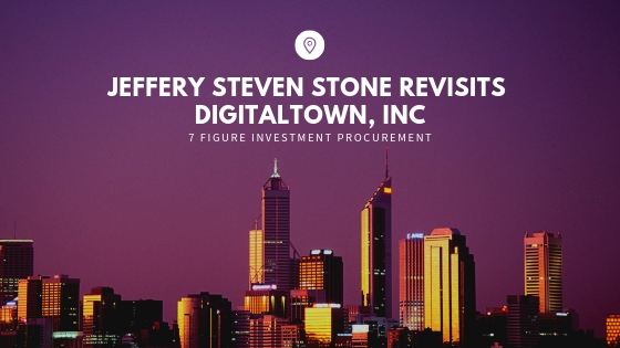 DigitalTown Relaunches with Jeffery Steven Stone