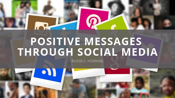 Russell Horning Supports Fans and Regularly Shares Positive Messages Through Social Media
