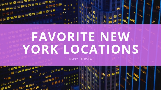 Barry Hers Discusses His Favorite New York Locations