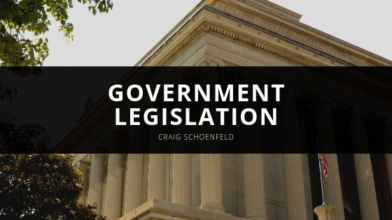 Craig Schoenfeld Plays Crucial Role in Government Legislation