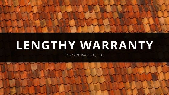 DG Contracting, LLC Offers a Lengthy Warranty for Their Clients