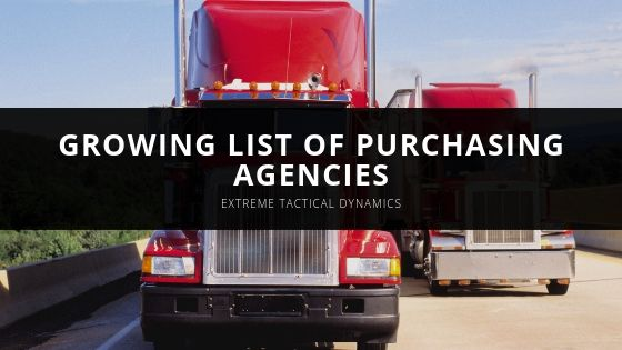 Extreme Tactical Dynamics Reviews and Reveals Growing List of Purchasing Agencies