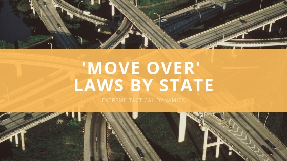 Emergency vehicle lights company Extreme Tactical Dynamics reviews details of 'move over' laws by state