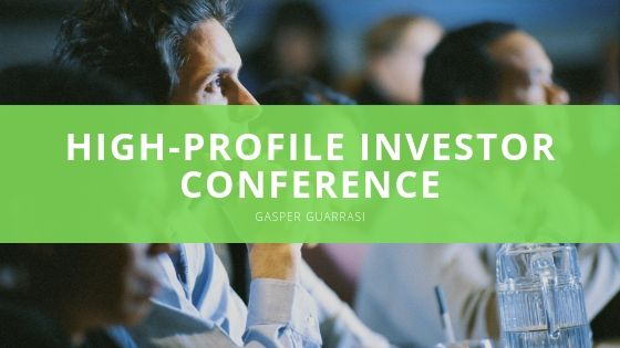 Gasper Guarrasi Shares Details of His Part As Keynote Speaker at Recent High-profile Investor Conference