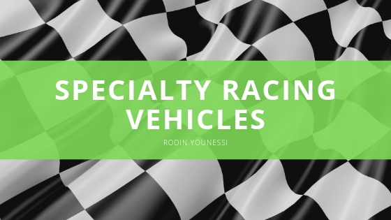Rodin Younessi Pilots Specialty Racing Vehicles in Various Renowned Competitions