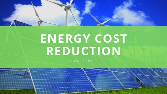Manufacturer Documents 47% Energy Cost Reduction With Stuart Burchill's Technology