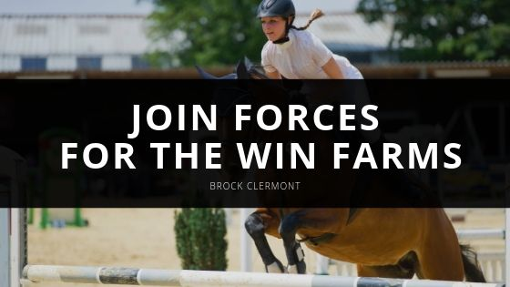 Brock Clermont and Alexa White Join Forces to Form for the Win Farms