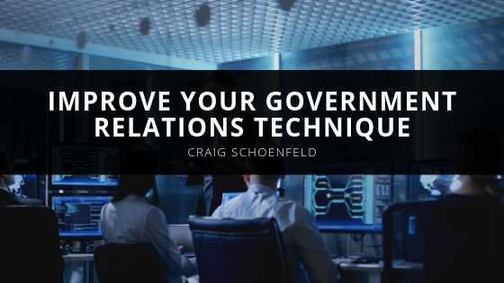 Improve Your Government Relations with Craig Schoenfeld