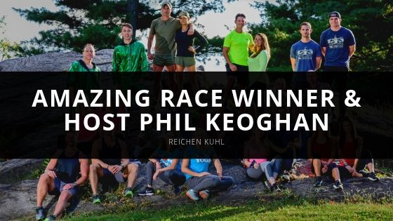 The Amazing Race Winner Reichen Kuhl Has a Surprise Reunion with Host Phil Keoghan