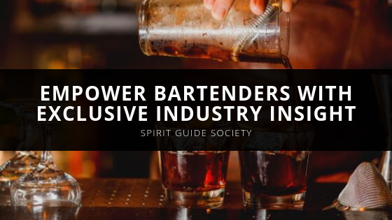 The Spirit Guide Society's Podcasts Empower Bartenders with Exclusive Industry Insight