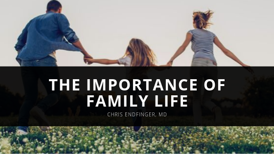 Chris Endfinger, MD Shares the Importance of Family Life