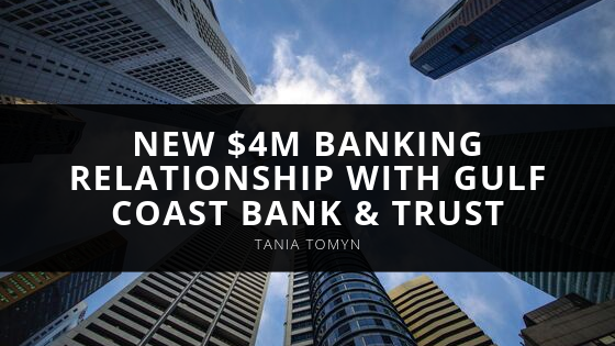 Retrolock Corp. CEO Tania Tomyn Announces New M Banking Relationship with Gulf Coast Bank & Trust