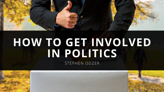 Stephen Odzer Talks About How to Get Involved in Politics