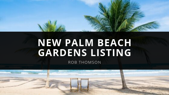 Waterfront Properties' Rob Thomson Wows with New Palm Beach Gardens Listing