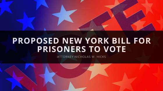 Nicholas Hicks Explains Proposed New York Bill for Prisoners to Vote