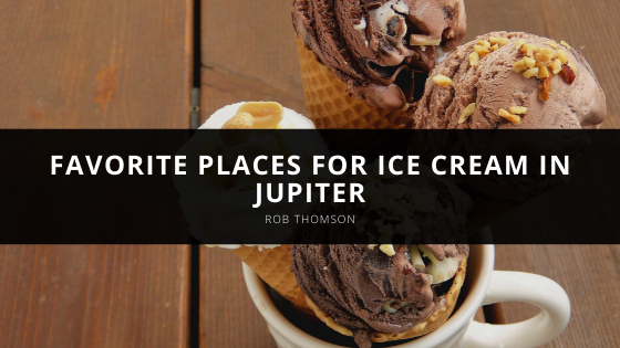 Rob Thomson Shares Favorite Places For Ice Cream in Jupiter