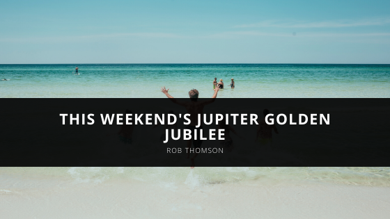 Rob Thomson Looks Forward to this Weekend's Jupiter Golden Jubilee