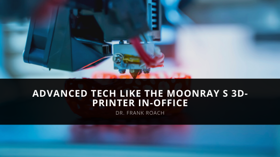 Frank Roach of Atlanta Uses Advanced Tech Like the MoonRay S 3D-Printer In-Office