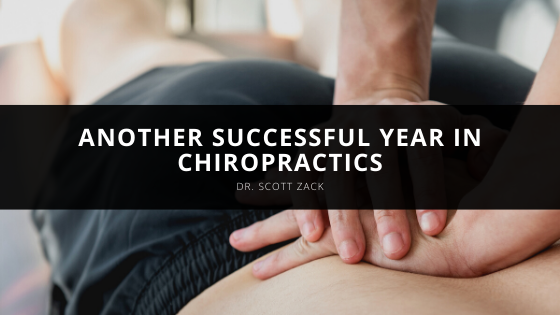 Dr. Scott Zack Marks Another Successful Year in Chiropractics
