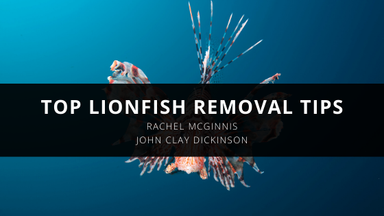 John Clay Dickinson and Rachel McGinnis Give Top Lionfish Removal Tips