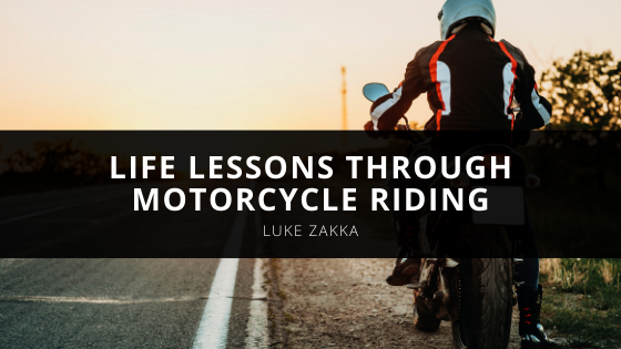 Luke Zakka Learns Life Lessons Through Motorcycle Riding