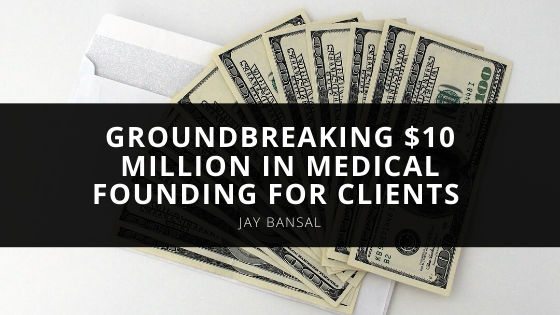 Midwest Medical Services, LLC Reaches a Groundbreaking $10 Million in Medical Funding for Clients According to Jay Bansal