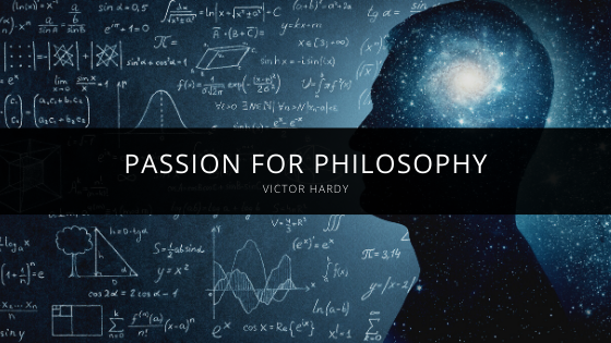 Victor Hardy Explains Passion For Philosophy