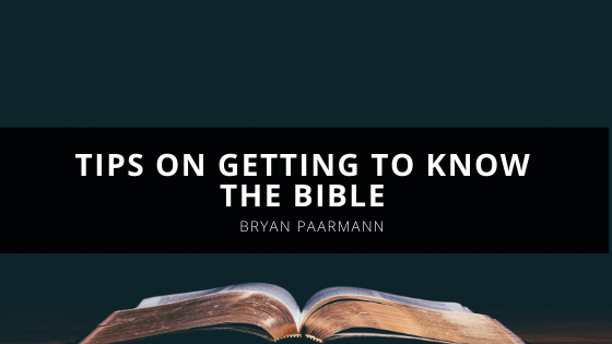 Chris Muggler's Tips on Getting to Know the Bible