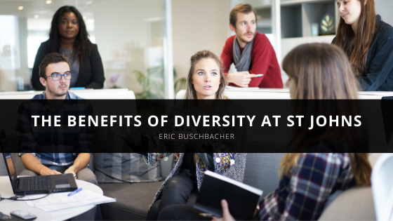 Eric Buschbacher Explains the Benefits of Diversity at St Johns