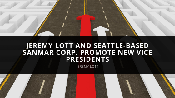 Jeremy Lott and Seattle-based SanMar Corp. promote new vice presidents