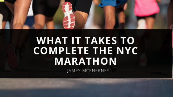 Jim McEnerney: What it Takes to Complete the NYC Marathon
