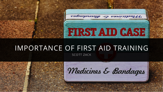 Scott Zack Highlights Importance of First Aid Training