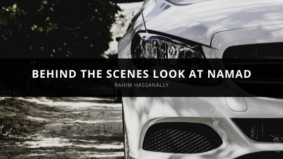 Rahim Hassanally offers a behind the scenes look at NAMAD