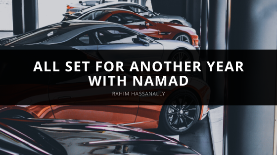 Rahim Hassanally all set for another year with NAMAD