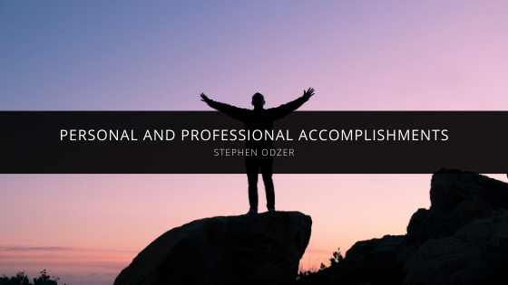 Stephen Odzer Talks About His Most Important Personal and Professional Accomplishments