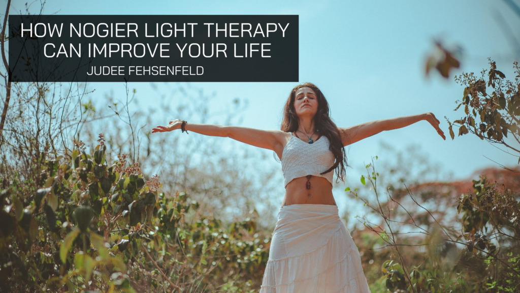 Judee Fehsenfeld Discusses Nogier Light Therapy and How It Can Improve Your Life