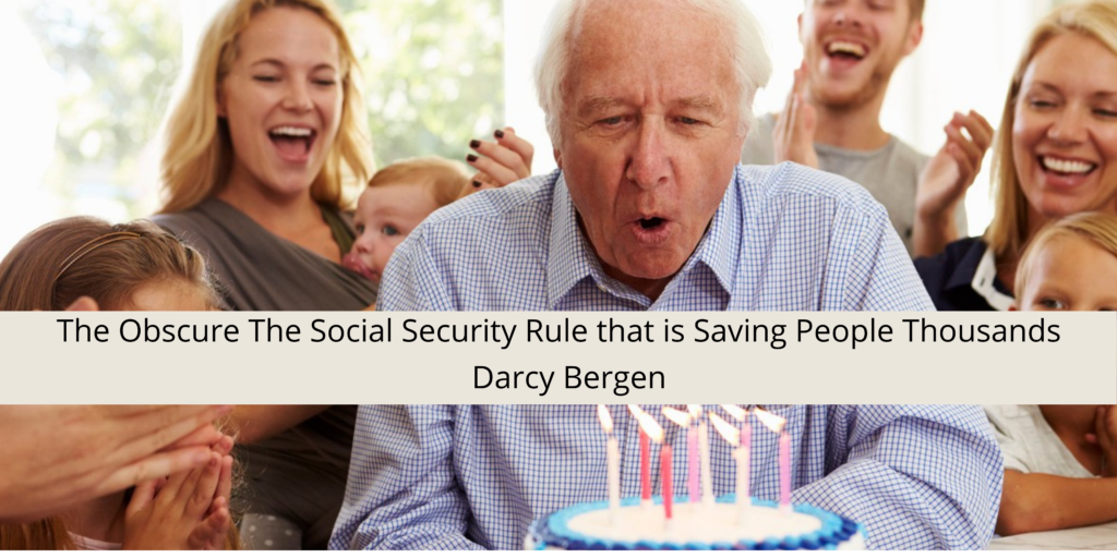 The Obscure The Social Security Rule that is Saving People Thousands