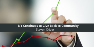 Steven Odzer of Cedarhurst, NY Continues to Give Back to Community