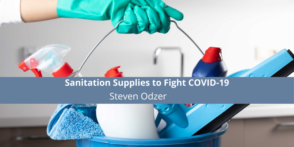 Steven Odzer and Buylifeguard.com Offering Sanitation Supplies to Fight COVID-19