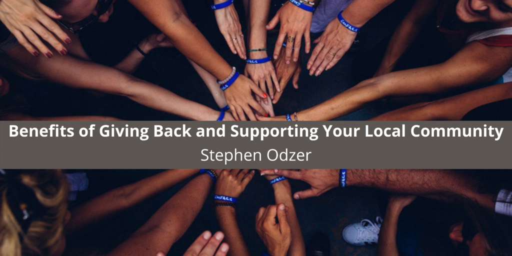 Philanthropist Stephen Odzer of Woodmere, NY Looks at the Benefits of Giving Back and Supporting Your Local Community